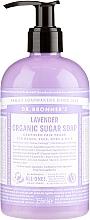 Perfumería y cosmética Jabón líquido multiusos con azúcar orgánico, de lavanda - Dr. Bronner's Organic Sugar Soap Lavender