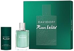 Perfumería y cosmética Davidoff Run Wild Men - Set (eau de toilette/100ml + desodorante/70g)