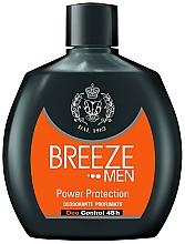 Perfumería y cosmética Desodorante perfumado  sin gas ni sales de aluminio - Breeze Men Power Protection Deo Control 48H