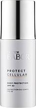 Perfumería y cosmética Loción corporal de protección solar con vitamina E y filtro UV, SPF 30 - Doctor Babor Protect Cellular Body Protection SPF 30