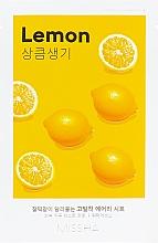 Perfumería y cosmética Mascarilla capilar con extracto de limón - Missha Airy Fit Lemon Sheet Mask