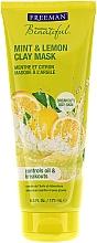 Perfumería y cosmética Mascarilla facial de arcilla con aceites de menta y limón - Freeman Feeling Beautiful Clay Mask Mint & Lemon