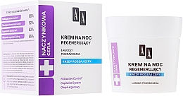 Crema facial con aceite de argán - AA Vascular Skin Regenerating Night Cream — imagen N1