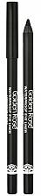 Perfumería y cosmética Lápiz de ojos negro de larga duración, resistente al agua - Golden Rose Waterproof Eyeliner Longwear & Soft Ultra Black