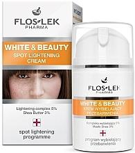 Perfumería y cosmética Crema iluminadora antimanchas con manteca de karité - Floslek White & Beauty Spot Lightening Cream