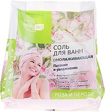 Perfumería y cosmética Sal de baño con aceite de rosa y nerolí - NaturaList