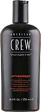 Perfumería y cosmética Champú anticaspa con propiedades acondicionadoras y control de sebo - American Crew Anti Dandruff+Sebum Control Shampoo