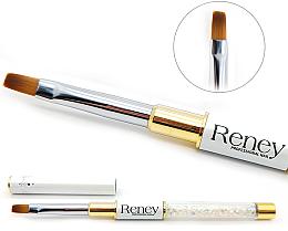 Perfumería y cosmética Pincel aplicador de gel constructor - Reney Cosmetics Pro Flat AN04