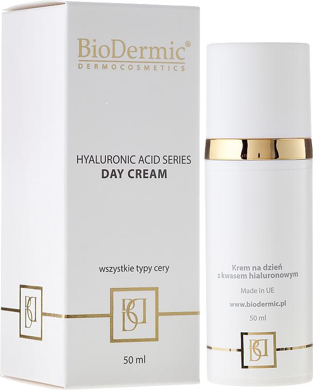 Crema de día con ácido hialurónico y aceite de sésamo - BioDermic Hyaluronic Acid Day Cream — imagen N1