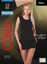 Perfumería y cosmética Pantis Prestige, 12 Den, negro - Conte