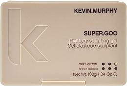 Perfumería y cosmética Gel moldeador con extracto de té verde y lavanda, fijación firme - Kevin.Murphy Super.Goo Firm Hold Rubbery Gel