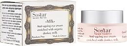 Perfumería y cosmética Contorno de ojos antiedad con leche de burra - Sostar Anti-Aging Eye Cream Enriched With Donkey Milk