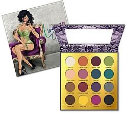 Perfumería y cosmética Paleta de sombras de ojos, 16 colores - Rude The Lingerie Collection