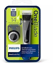 Perfumería y cosmética Recortador, perfilador y afeitador de barba en uno - Philips OneBlade Pro QP6520/20