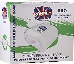 Perfumería y cosmética Lámpara UV para manicura, roja - Ronney Profesional Judy UV 36W (GY-UV-230) Lamp