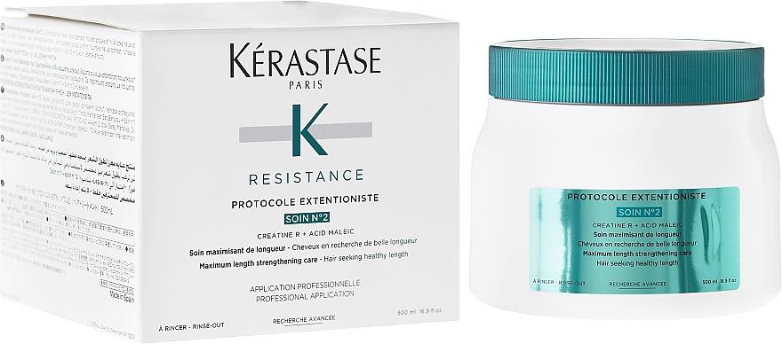 Tratamiento capilar con ácido maleico - Kerastase Resistance Protocole Extentioniste Soin Nº2