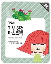 Perfumería y cosmética Mascarilla facial de tejido con extracto de tuna - Yadah Soothing Mask
