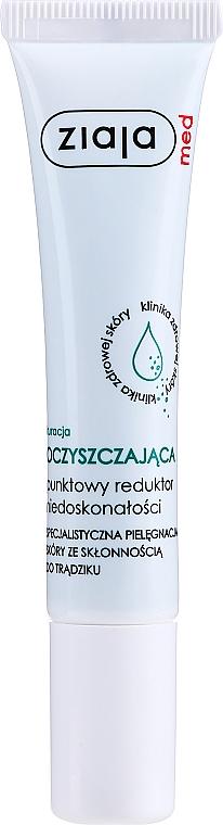 Tratamiento antiacné con ácido salicílico, provitamina B5 y D-pantenol - Ziaja Med Spot Acne Reducing Treatment Antibacterial