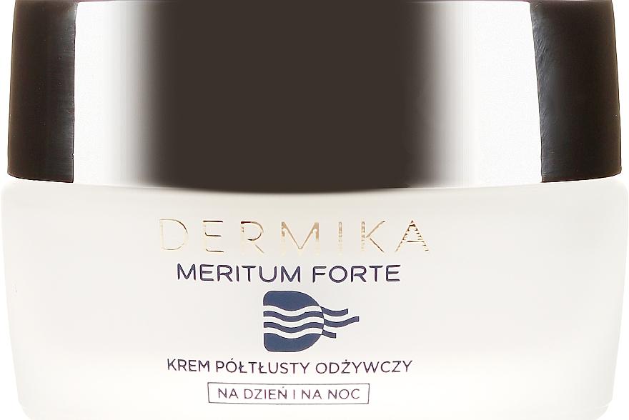 Crema facial renovadora con calcio y coenzima Q10 - Dermika Meritum Cream — imagen N2