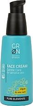 Perfumería y cosmética Crema facial con extracto de algas y sal marina - GRN Pure Elements Algae & Sea Salt Face Cream