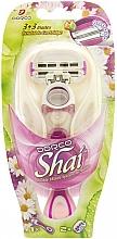 Perfumería y cosmética Maquinilla de depilar con recambio - Dorco Shai 3+3
