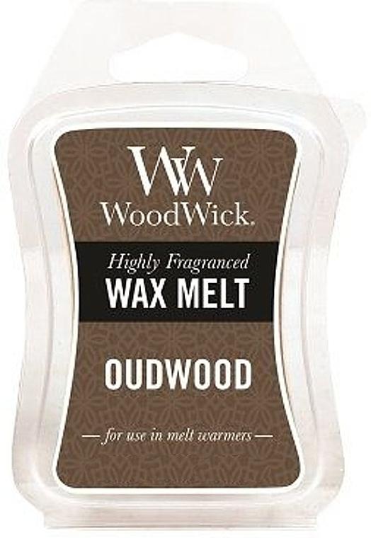 Cera para lámparas aromáticas, oud - WoodWick Wax Melt Oudwood