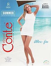 Perfumería y cosmética Pantis Summer, 8 Den, efecto bronceado - Conte