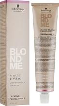 Perfumería y cosmética Crema tonificante para cabello rubio - Schwarzkopf Professional BlondMe Pastel Tones Blonde Toning