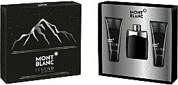 Perfumería y cosmética Montblanc Legend - Set (eau de toilette/100ml + bálsamo aftershave/100ml + gel de ducha/100ml)