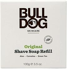 Perfumería y cosmética Jabón de afeitar con aloe vera y té verde - Bulldog Skincare Original Shave Soap Refill (recarga)
