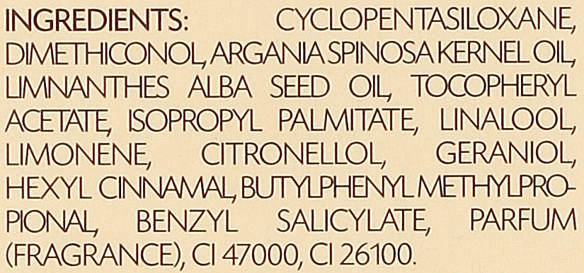 Elixir para cabello con aceite de argán - PostQuam Argan Sublime Hair Care Normal Hair Elixir — imagen N4