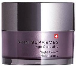Perfumería y cosmética Crema de noche antiedad - Artemis of Switzerland Skin Supremes Age Correcting Night Cream