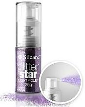 Perfumería y cosmética Glitter en spray para decoración de uñas - Silcare Glitter Star