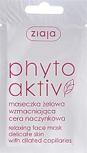 Perfumería y cosmética Mascarilla en gel para pieles delicadas con problemas de capilares con ácido ascórbico - Ziaja Face Mask