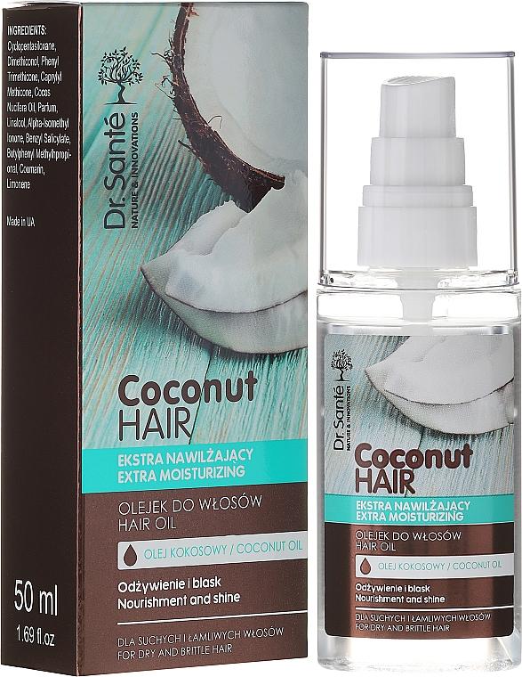 Aceite para cabello de coco - Dr. Sante Coconut Hair