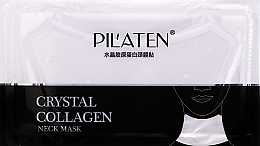 Perfumería y cosmética Mascarilla de tejido para cuello con colágeno y extracto de aloe vera - Pilaten Collagen Crystal Neck Mask