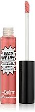 Perfumería y cosmética Brillo labial líquido con extracto de ginseng - theBalm Read My Lips Lip Gloss