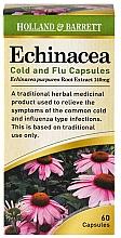 Perfumería y cosmética Complemento alimenticio de Equinácea, en cápsulas 140mg - Holland & Barrett Echinacea Cold & Flu 140mg