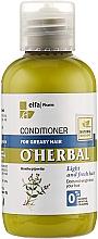 Perfumería y cosmética Acondicionador con extracto de menta, arcilla blanca y azufre orgánico - O'Herbal