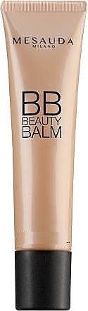 BB bálsamo facial hidratante y protector con filtro solar, acabado natural y luminoso - Mesauda Milano BB Beauty Balm