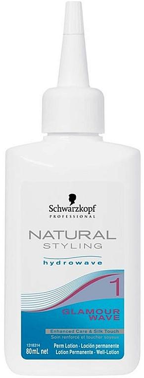 Loción bifásica para rizada permanente con urea y extracto de aloe - Schwarzkopf Professional Natural Styling Curl & Care 1 — imagen N1