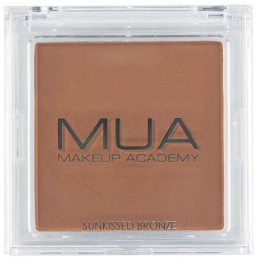 Bronceador facial compacto - MUA Bronzer Sunkissed Bronze