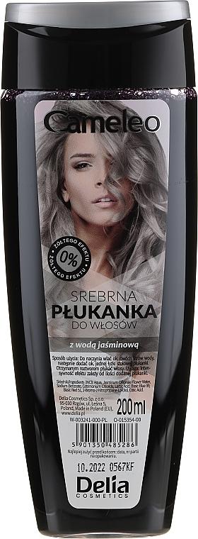 Baño de color plateado- enjuague para cabello rubio y claro - Delia Cosmetics Cameleo