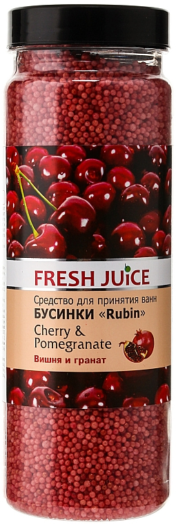 Perlas de baño con cereza & granada - Fresh Juice Bath Bijou Rubin Cherry and Pomergranate