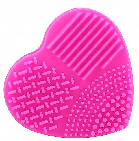 Limpiador de silicona para brochas y cepillos de maquillaje, ciclámen - Ilu Brush Cleaner Hot Pink