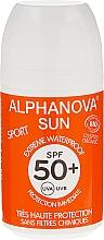 Perfumería y cosmética Roll-on protector solar con áloe - Alphanova Sun Roll On Sport SPF 50+