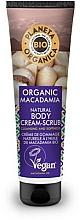 Perfumería y cosmética Crema exfoliante natural - Planeta Organica Organic Macadamia Natural Body Scrub