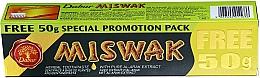 Perfumería y cosmética Pasta dental anticaries con extracto puro de Miswak - Dabur Miswak