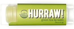 Perfumería y cosmética Bálsamo labial eco con aceite de té verde - Hurraw! Green Tea Lip Balm