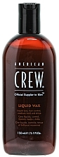 Perfumería y cosmética Cera líquida, fijación media y brillo - American Crew Classic Liquid Wax